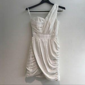 H&M White Cocktail Dress